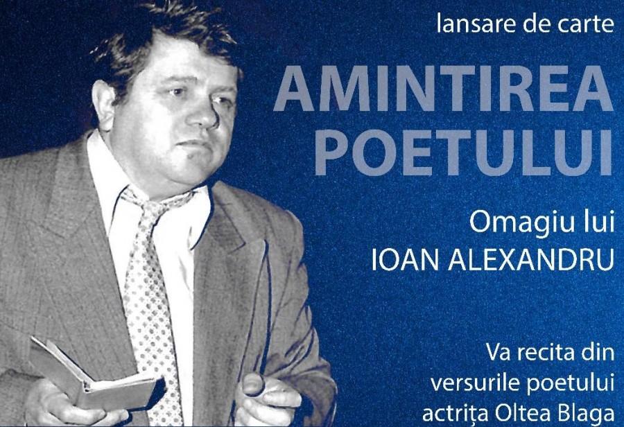 Amintirea poetului. Ioan Alexandru, omagiat la Biblioteca Județeană