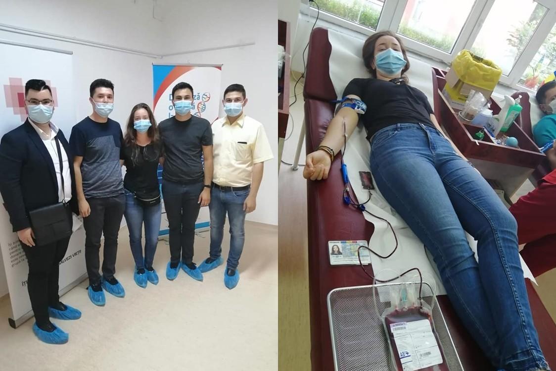 Ascoriștii arădeni fac un apel pentru viață! Nevoia de sânge este foarte mare la Centrul de Transfuzie Sanguină Arad