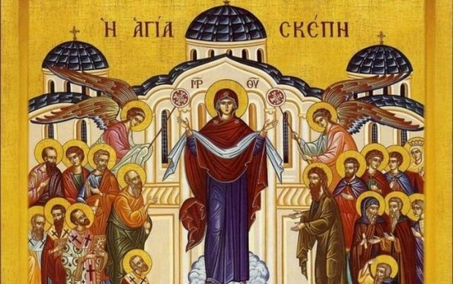 Acoperământul Maicii Domnului, vădita întărire a credincioșilor nevoitori