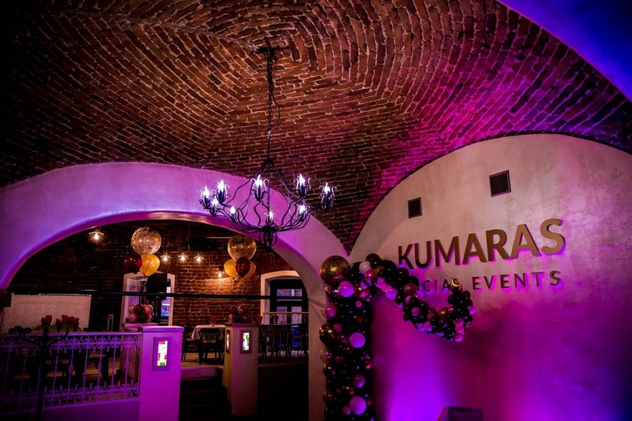 Kumaras Social Events, un local potrivit pentru 50 persoane.