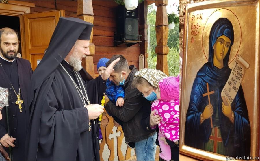 Sfânta Parascheva - mult folositoare poporului român. Schitul de maici de la Bodrogu Vechi și-a serbat hramul (FOTO)