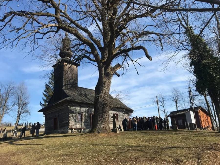 Ambulanța pentru Monumente Arad va începe lucrările de restaurare a Bisericii de lemn din  Ionești