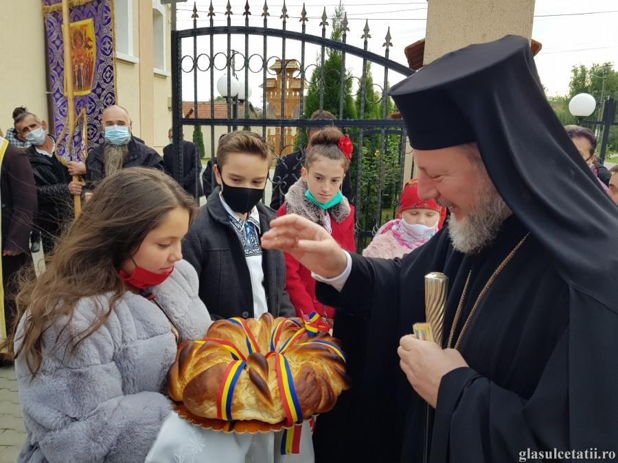 Liturghia Arhierească și sfințirea lucrărilor la biserica din Mâsca, ÎN IMAGINI