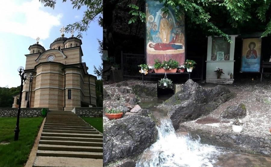 Izvorul cu ape tămăduitoare de la Mănăstirea Izbuc a ieșit din nou la suprafață, în ziua cinstirii Cuvioasei Parascheva