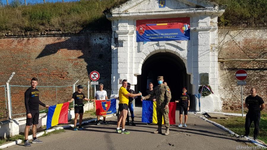 (FOTO) Ștafeta Veteranilor a ajuns astăzi în Cetatea Aradului. Sacrificiul impune respect. Go Invictus!