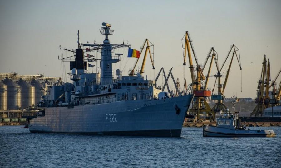 """Fregata """"Regina Maria"""" pleacă astăzi în cea de a treia misiune NATO de instrucţie din acest an"""