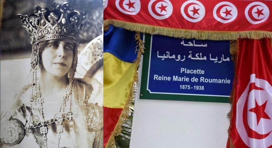 O piațetă din Tunis poartă, începând de ieri, numele Reginei Maria a României