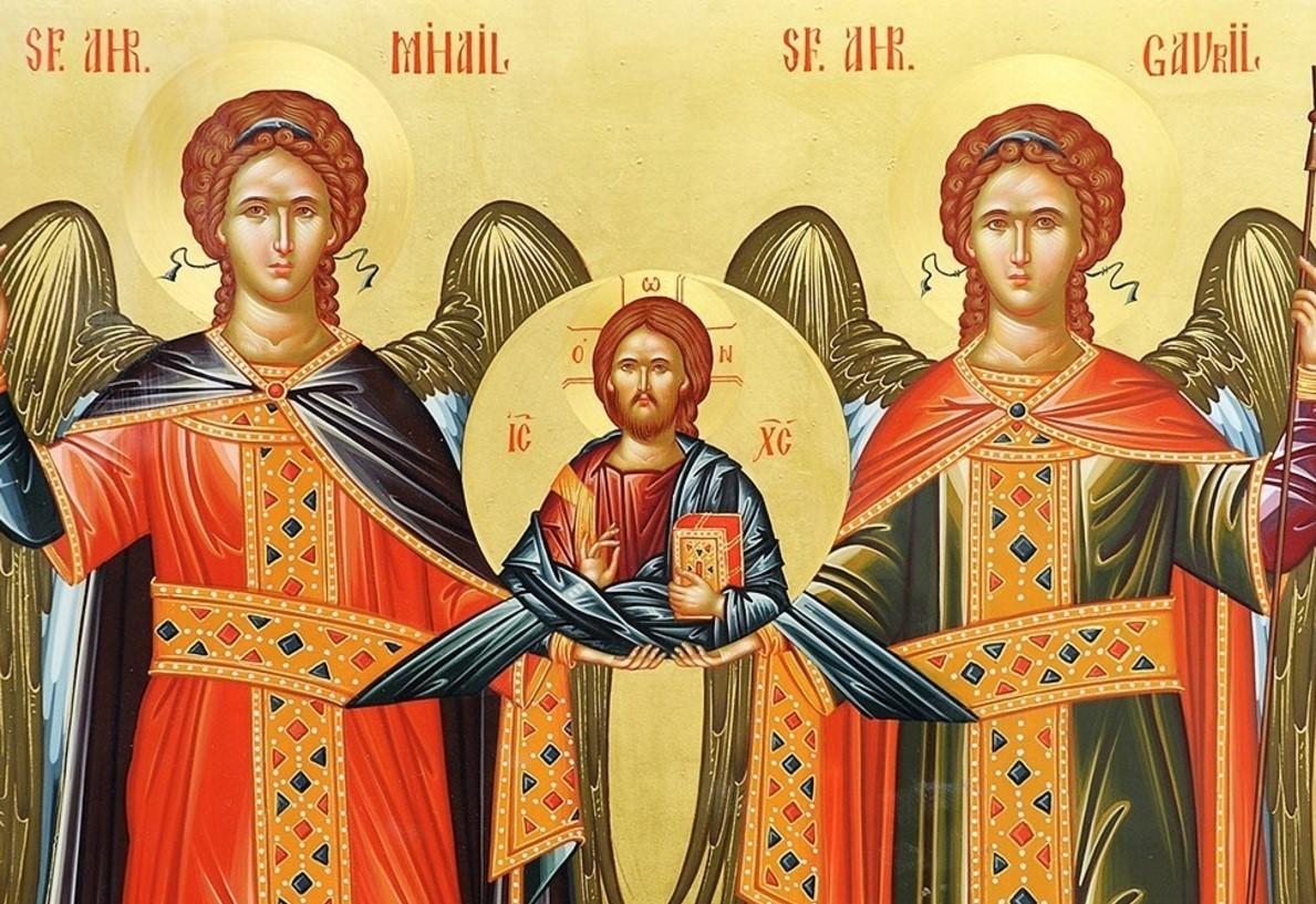 Sfinții Arhangheli Mihail și Gavriil – dreptatea, bucuria și mângâierea credincioșilor