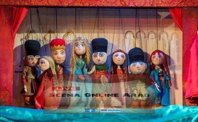 Trupa Marionete urcă pe Scena Online Arad