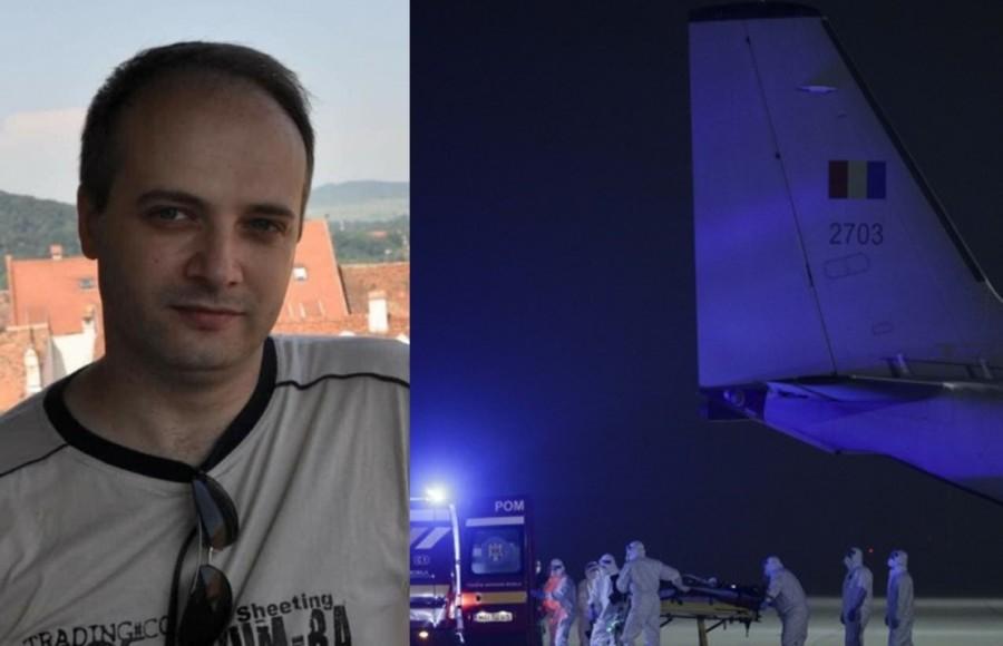 Medicul erou de la ATI Piatra Neamț, transferat la Spitalul Militar Regina Astrid din Belgia