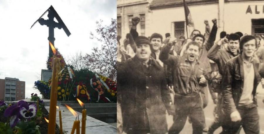 33 de ani de la Revolta anticomunistă de la Brașov