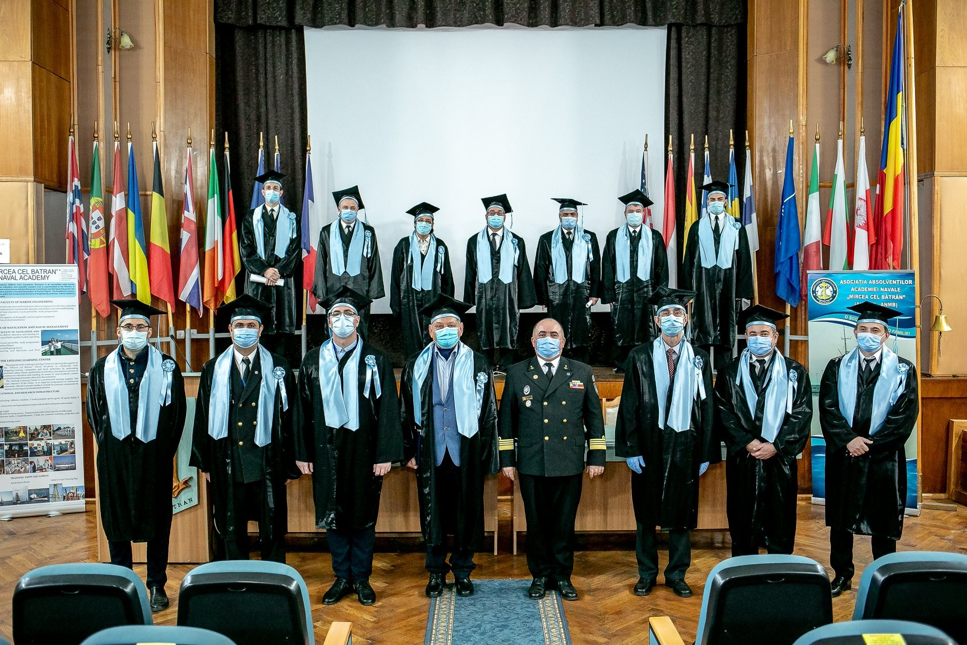 """Academia Navală """"Mircea cel Bătrân"""" a marcat 148 de ani de la înființare"""