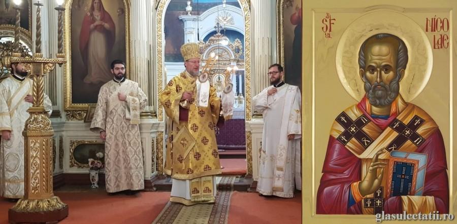 Sfântul Nicolae, îndreptător credinței și chip al blândeților, prăznuit la Catedrala Veche din Arad