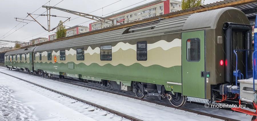 Astra Arad a început livrarea unui lot de 8 vagoane noi pentru Ministerul Apărării Naționale
