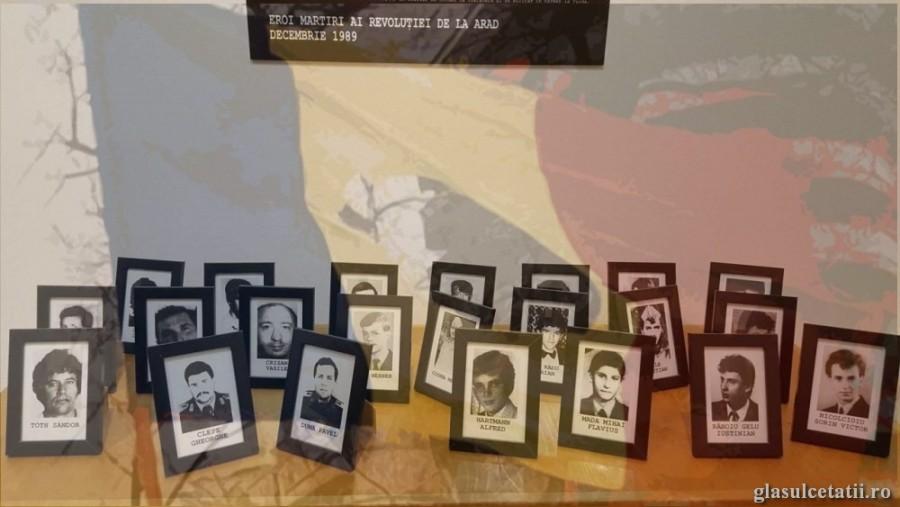 31 de ani de la Revoluția din 1989. Programul omagierii Eroilor la Arad