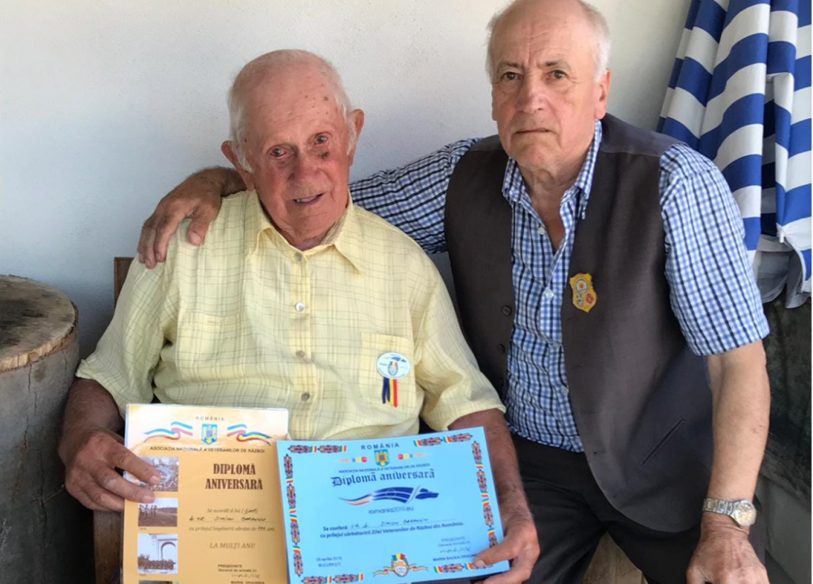 Încă un erou în veșnicie. Veteranul de război Simion Baranciu a încetat din viață la 101 ani
