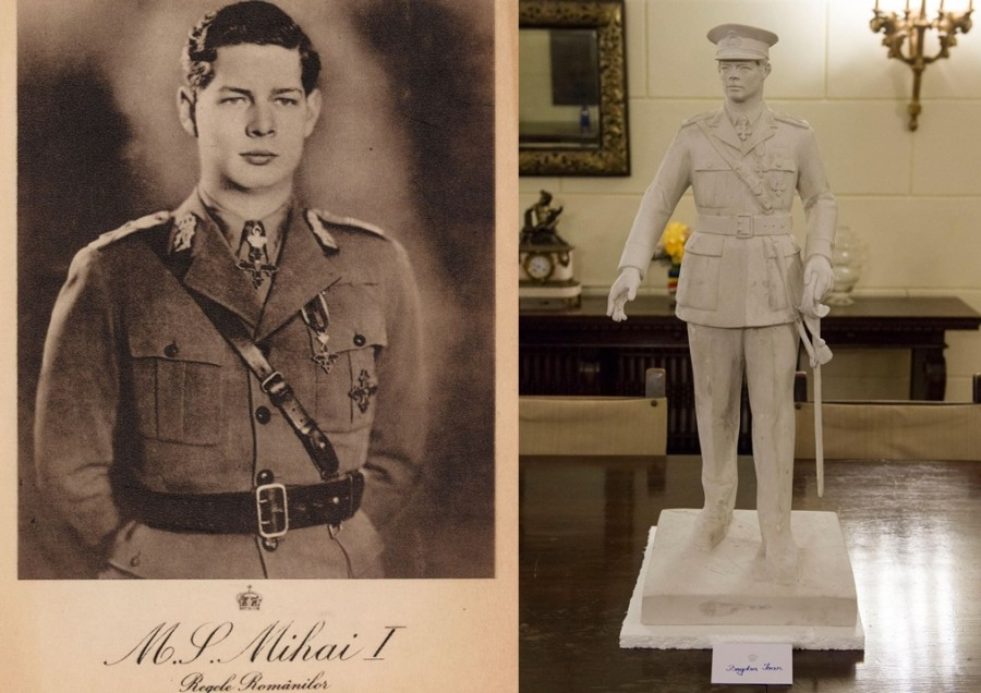 A fost desemnat câștigătorul Concursului pentru realizarea statuii din bronz a Regelui Mihai I