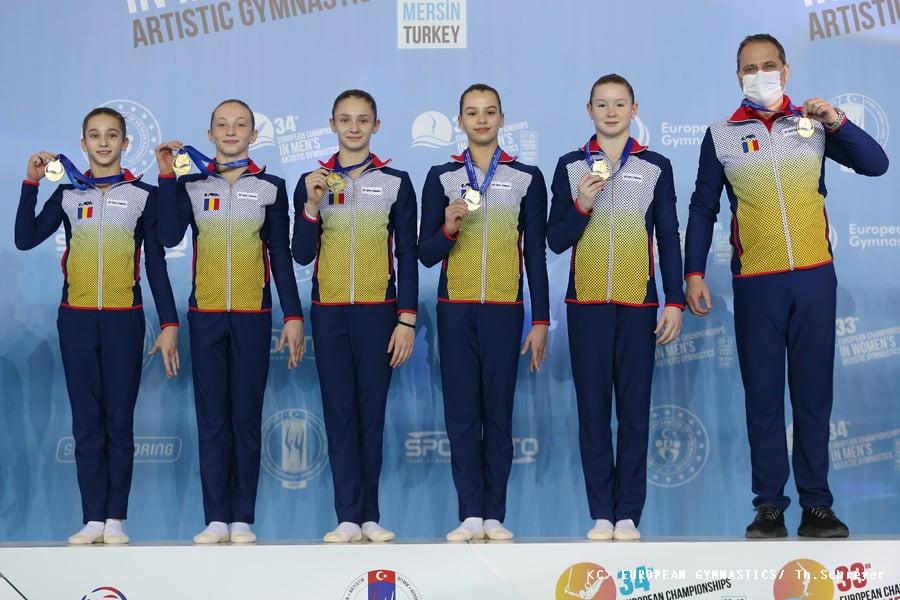 Țară, țară, avem campioane! România a câștigat două medalii de Aur și una de Argint la Europenele de Gimnastică de la Mersin