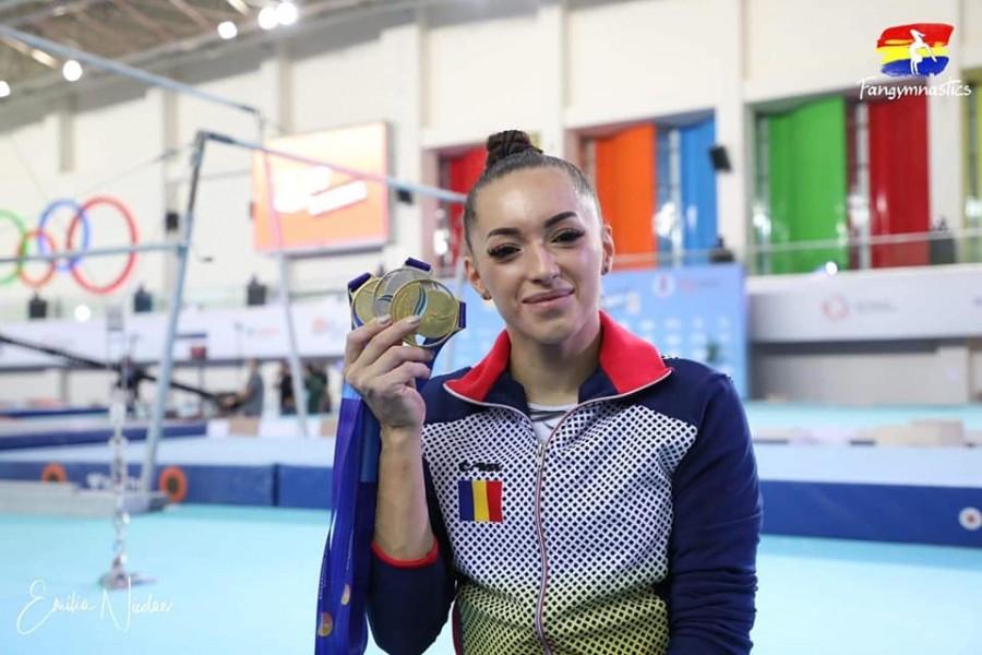 """Cea mai medaliată sportivă la CE din istoria gimnasticii româneşti: """"Fiecare mesaj primit a contat foarte mult când nimeni nu mai credea în mine"""""""