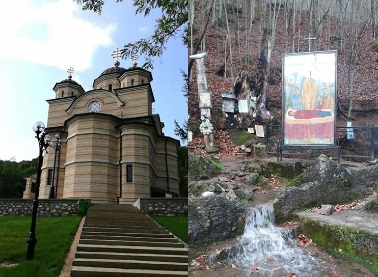 Izvorul cu ape tămăduitoare de la Mănăstirea Izbuc a ieșit din nou la suprafață în ziua de Anul Nou