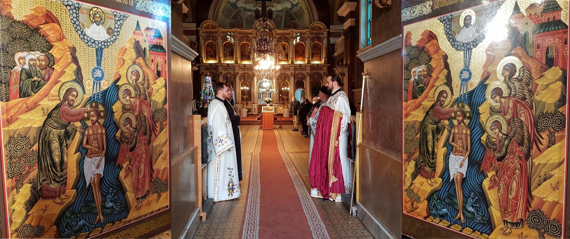 ÎN IMAGINI – Liturghia Arhierească și Sfințirea cea Mare a Apei, la Catedrala Veche din Arad