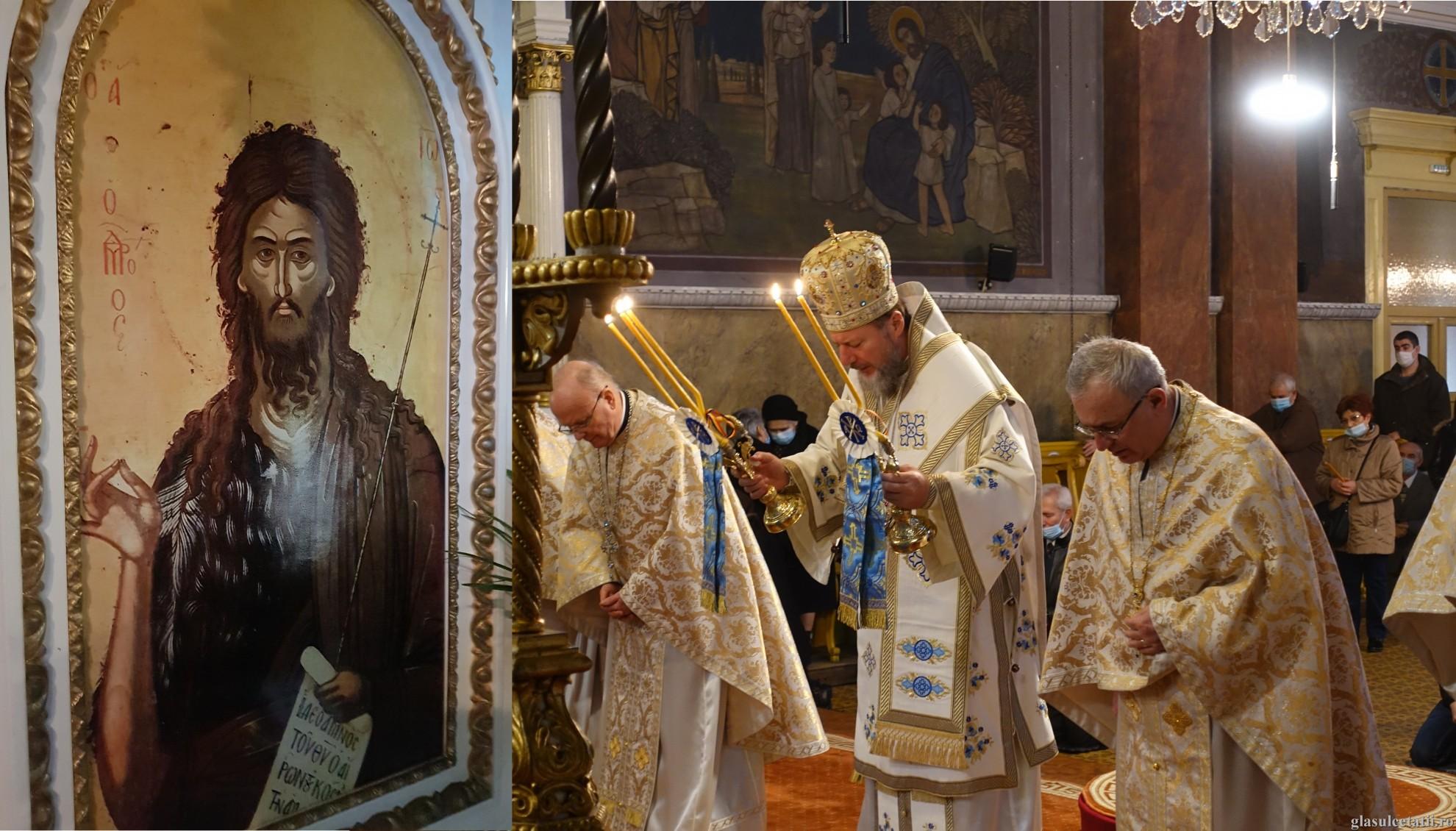 ÎN IMAGINI – Liturghia Arhierească la prăznuirea Sf. Ioan Botezătorul, săvârșită la Catedrala Veche din Arad