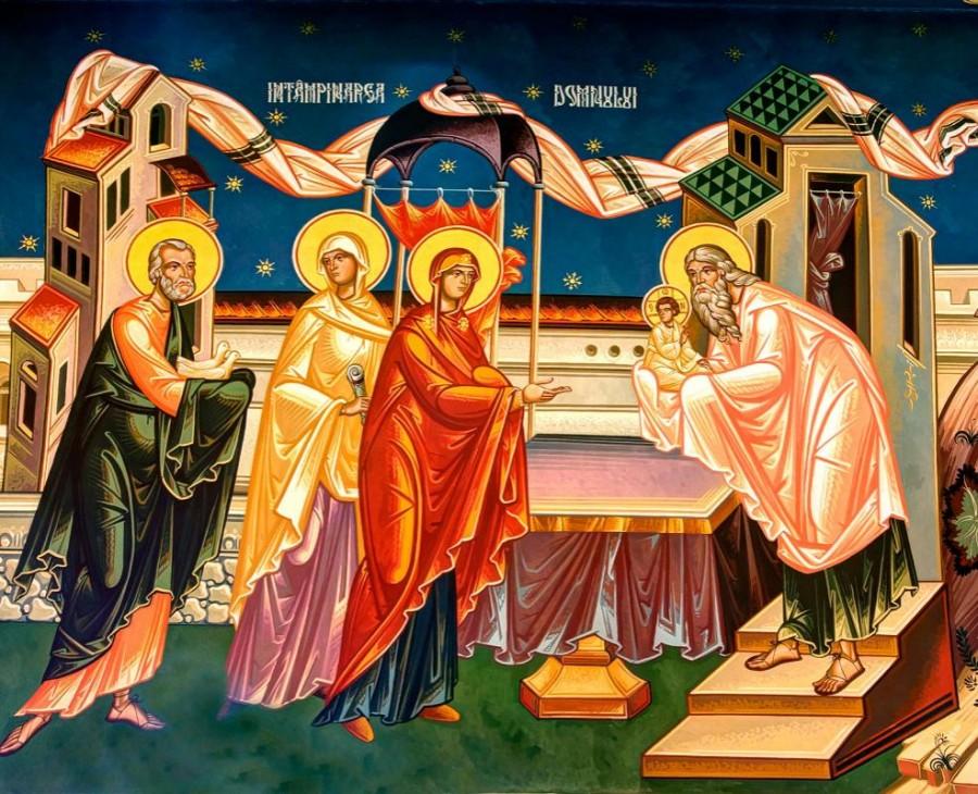 """Întâmpinarea Domnului, sărbătoarea bucuriei aflării """"mântuirii gătite înaintea feței tuturor popoarelor"""""""