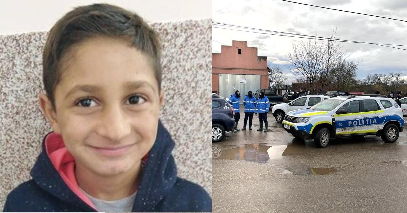 Căutarea copilului de 7 ani dispărut din Vânători continuă  cu sprijin de la Bucureşti