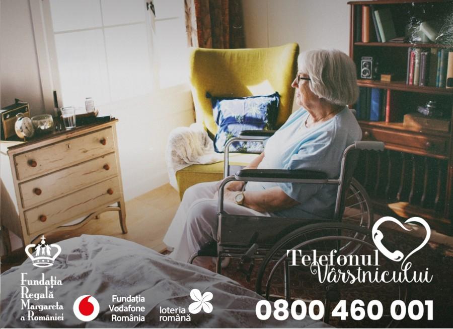 Telefonul Vârstnicului, număr record de convorbiri telefonice și de apelanți în 2020