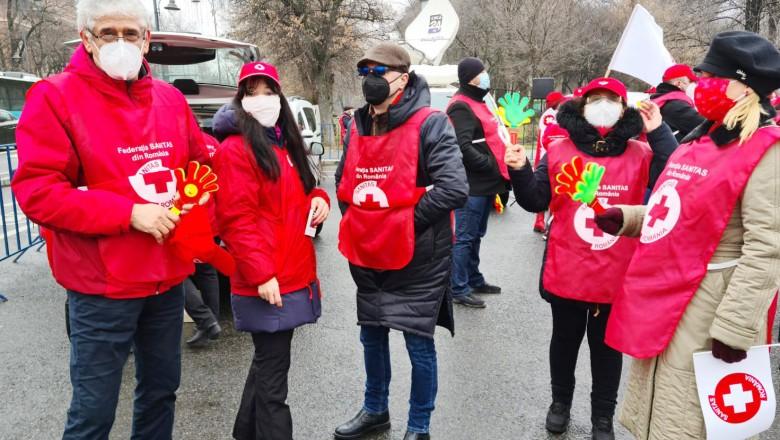 Reducerea sporurilor scoate sindicaliștii Sanitas în stradă. Proteste în perioada 11 - 19 februarie