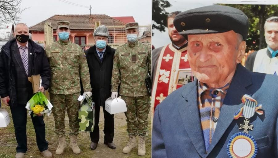 O poveste de 100. Veteranul de război Toma Duminică, sărbătorit la centenar