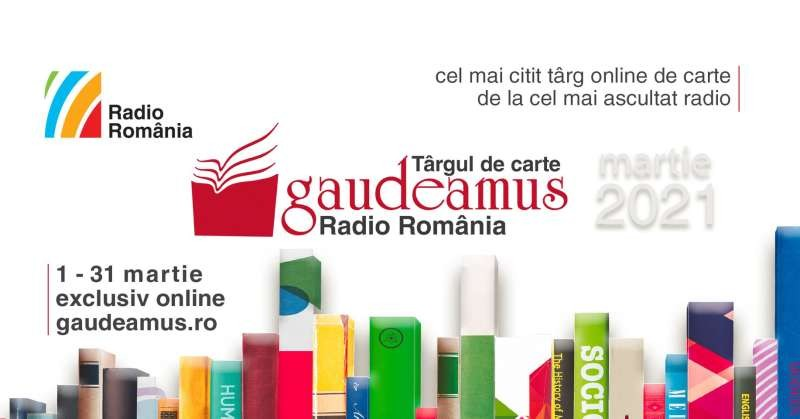 Târgul de Carte Gaudeamus Radio România, ediţie online între 1-31 martie