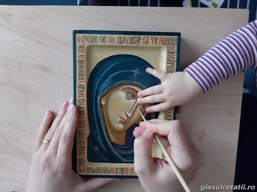 """Concursul Național """"Icoana ortodoxă – Lumina credinței"""", la a X-a ediție"""