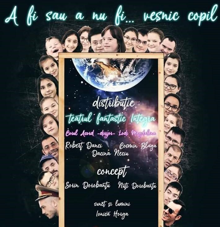 Spectacol special la Teatrul arădean, de Ziua Internațională a Sindromului Down