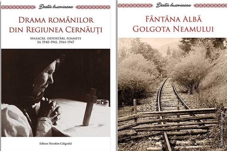 Două volume dedicate suferinţelor românilor din Cernăuţi pot fi descărcate gratuit