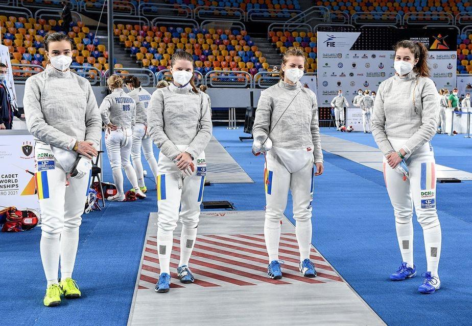 România este în semifinalale concursului feminin pe echipe, la sabie juniori!