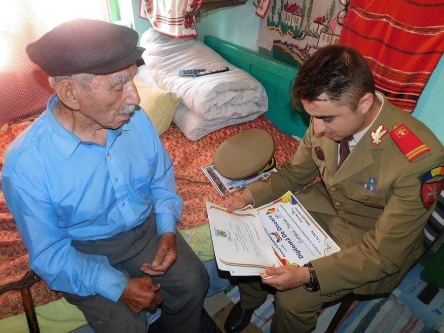 Veteranul de război Traian Șufană a trecut la cele veșnice la vârsta de 99 de ani