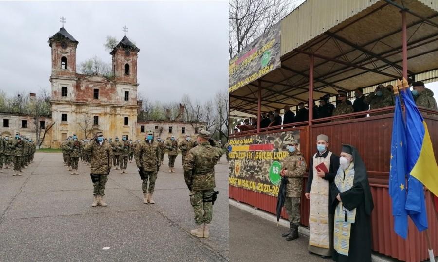 """Misiune îndeplinită! Militarii arădeni din cadrul Batalionului de Protecție a Forței """"Golden Lions"""" s-au întors acasă din Afganistan"""