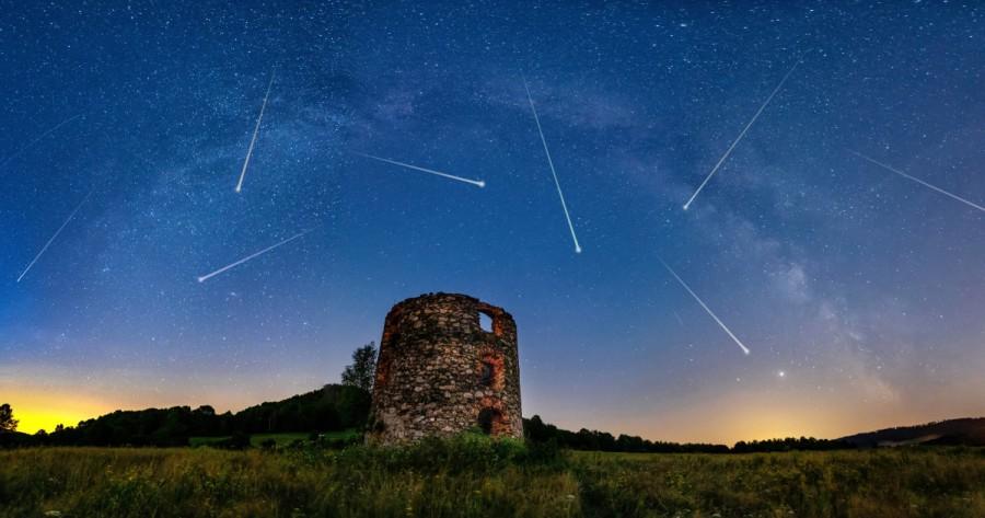 Lyridele, spectacolul stelelor căzătoare. Când și cum le putem vedea