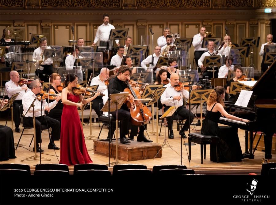 Biletele şi abonamentele la concertele online ale Concursului ''Enescu'' 2021 - puse în vânzare