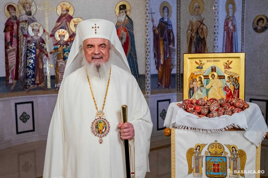 """""""Destinația ultimă a omului nu este mormântul, ci Împărăția Cerurilor"""" - Mesajul de Paști al Patriarhului"""