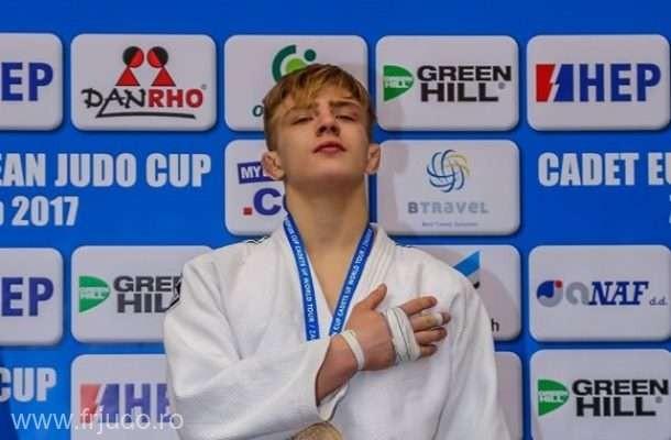 Adrian Şulcă a cucerit medalia de aur la Openul European de judo de la Zagreb
