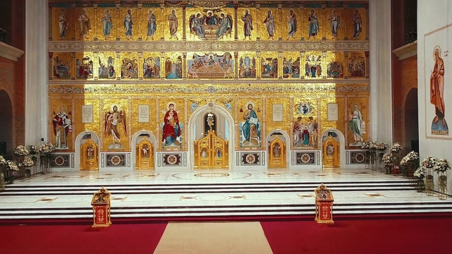 Catedrala Mântuirii Neamului deține cel mai mare iconostas ortodox - Record mondial
