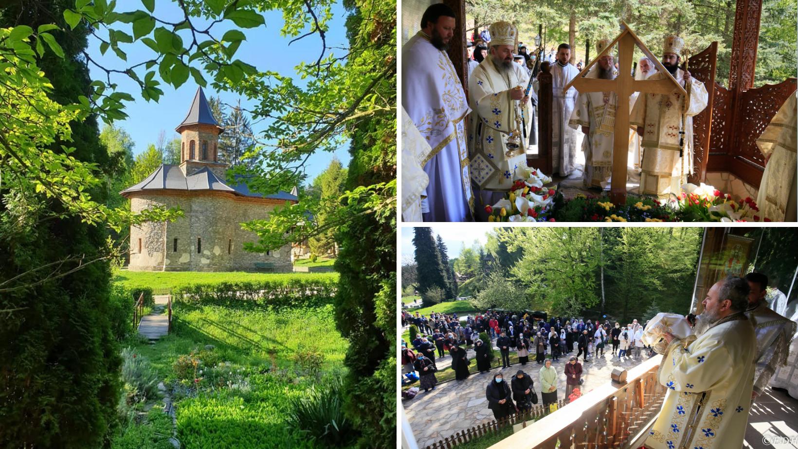 Pelerinii, din nou pe Calea Prislopului. Mănăstirea și-a sărbătorit astăzi hramul istoric