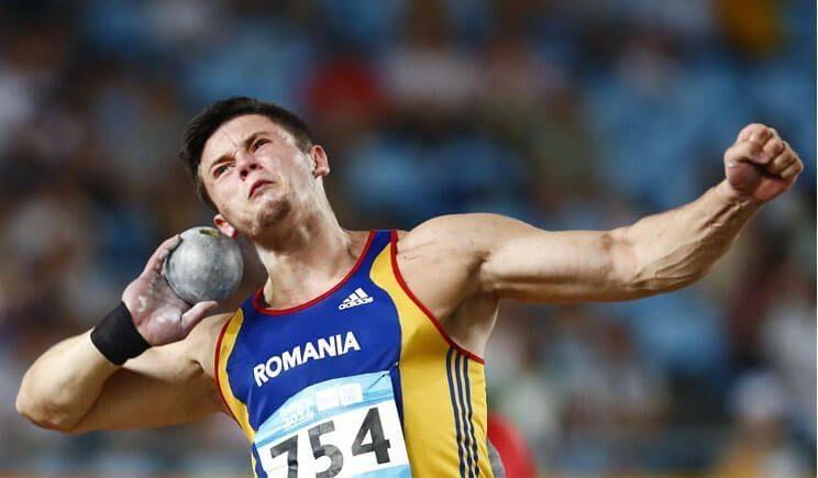 Atletul român Andrei Rareş Toader, medaliat cu aur la Cupa Europeană de aruncări