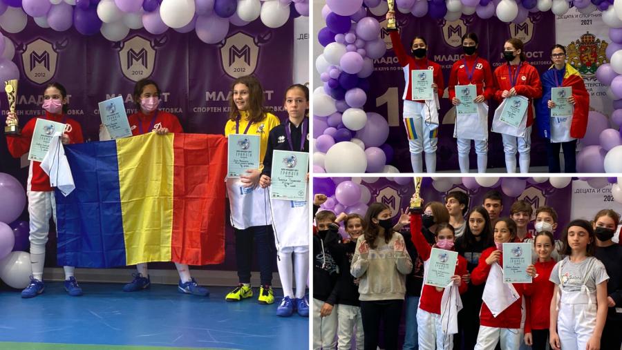 14 medalii românești, dintre care 4 de aur, la Mladost Cup Bulgaria!