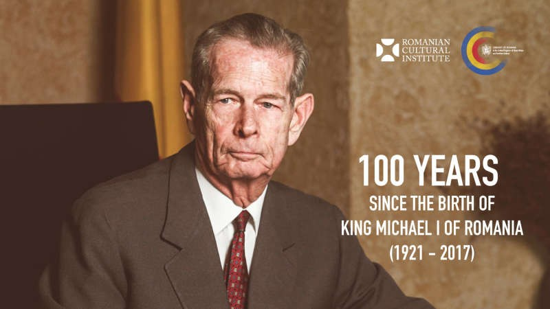 Evenimente dedicate Centenarului Regelui Mihai I, la Institutul Cultural Român din Londra