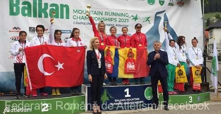 România a cucerit nouă medalii la Campionatele Balcanice de alergare montană