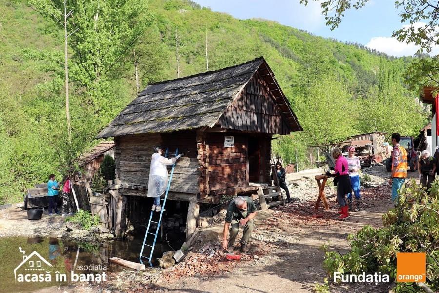 Zona morilor de apă de la Rudăria, curăţată de peste 200 de voluntari din ţară şi străinătate