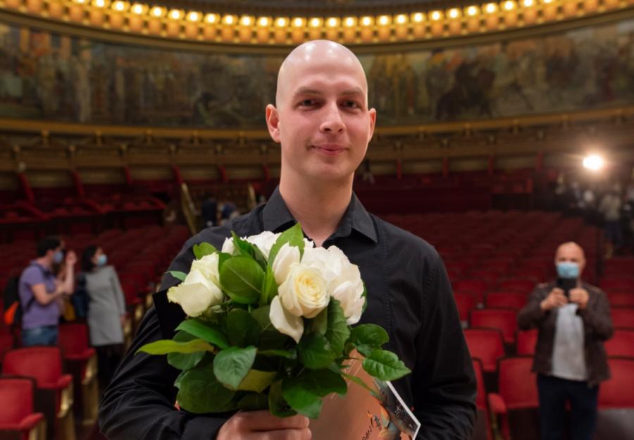 Valentin Șerban, marele câștigător al finalei de vioară la Concursul George Enescu